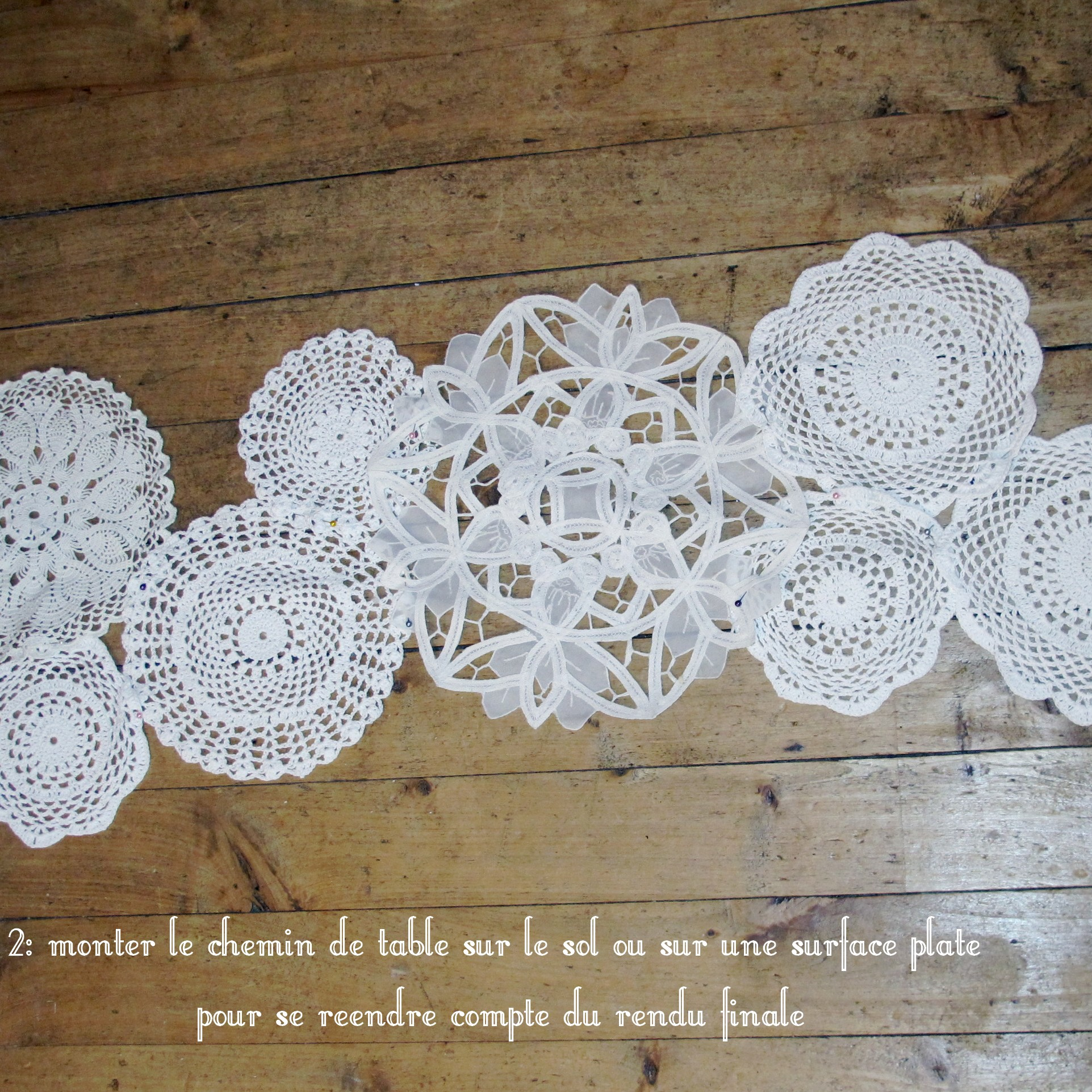 Diy Chemin De Table Napperon Mamzel Tutu Le Blog