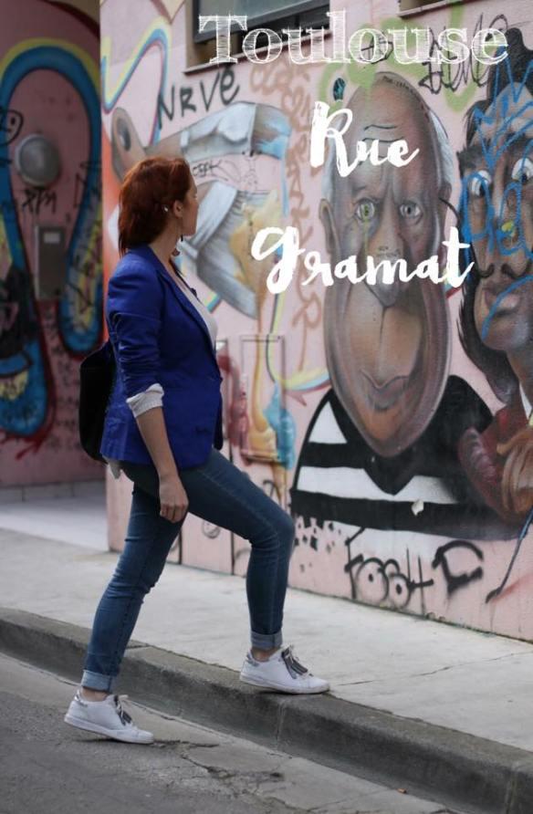 photo présentation rue gramat graffiti