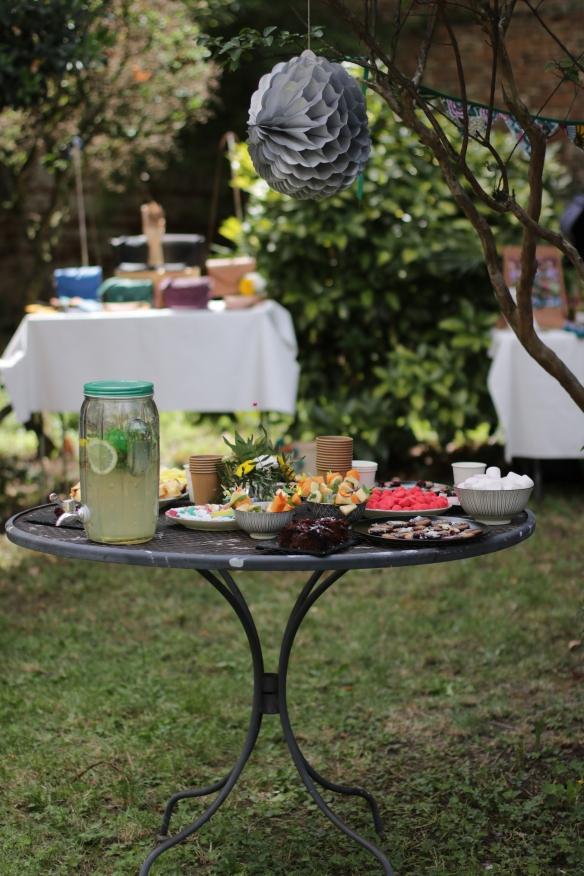 buffet garden party a