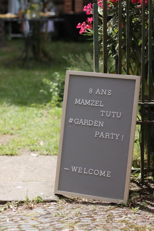 déco garden party a