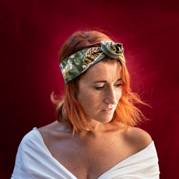 bandeau, headband, fil de fer, cheveux