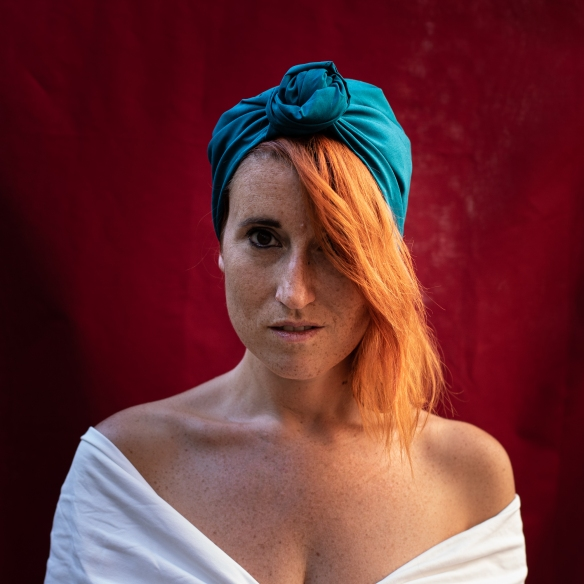 turban, foulard, cheveux